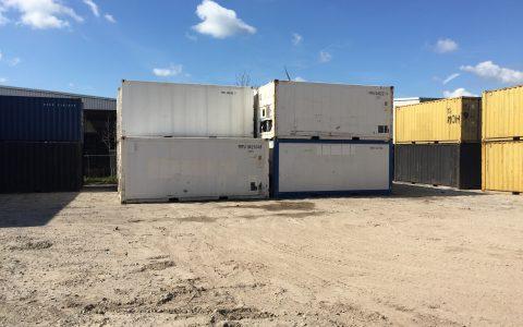Opslag voor Koelcontainers